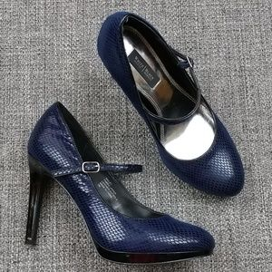 "White House Black Market Bailey 4"" Heels Size 7M"